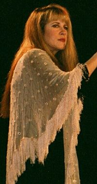 Stevie onstage, 2001 ~ looking very calm, composed and beautiful  ~ ☆♥❤♥☆ ~  love her shawl here