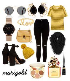 """Marigold"" by hiind-stark on Polyvore featuring mode, Prada, CLUSE, Sydney Evan, Bounkit, Étoile Isabel Marant, New Look, Gianvito Rossi, Chloé et White + Warren"