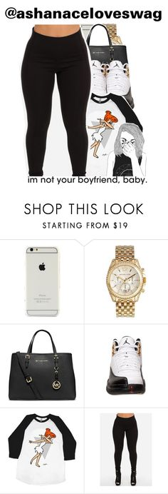 """Dab"" by trillest-shauney ❤ liked on Polyvore featuring Michael Kors, MICHAEL Michael Kors and Retrò"