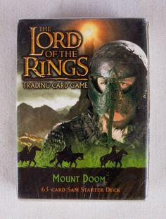 LORD OF THE RINGS TCG MOUNT DOOM SEALED SAM STARTER DECK