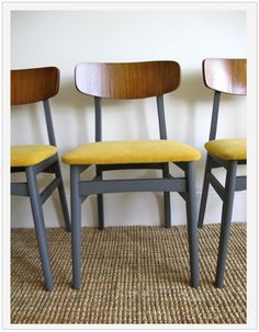 7 best yellow dining chairs images colorful chairs lunch room rh pinterest com