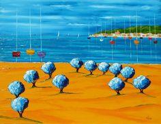 LA CÔTE D'AZUR - THE FRENCH RIVIERAWelcome to the official website of Jean-Claude Tron Saint Tropez, Palm Beach, La Croisette, French Riviera, Website, Outdoor Decor, Art, Paintings, Poppies