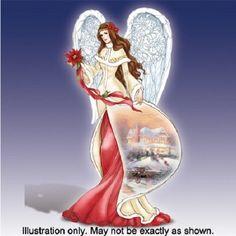 Thomas Kinkade angel figurine