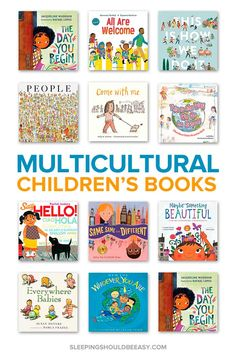 Teach your child about diversity and inclusion with these multicultural children's picture books! Perfect for toddlers, preschool, and elementary students to learn about different cultures around the world. #multicultural #childrensbooks #diversity #culture