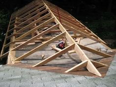 What are your plans for tying into the existing roof on the other part of the house?
