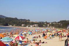 Playa de Miño: Menudo día de sol