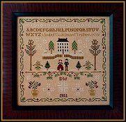 Little House Needleworks - New England Winter Sampler