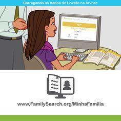 """""""O Livreto Minha Família Histórias Que nos Unem"""" — Utilize o recurso de preenchimento online para carregar os dados do livreto para a árvore. Acesse www.FamilySearch.org/MinhaFamilia #familysearch #historiadafamilia"""