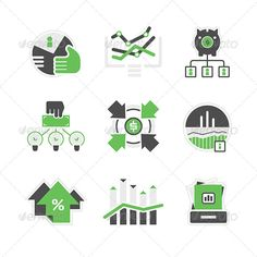 Business Analysis Icons — Photoshop PSD #index #crowdsourcing • Available here → https://graphicriver.net/item/business-analysis-icons/7326020?ref=pxcr