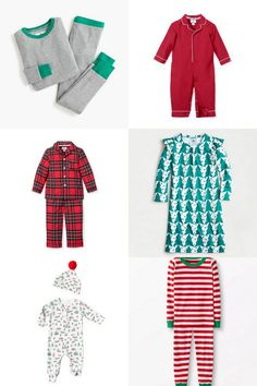All the Best Kid's Christmas Pajamas for 2019