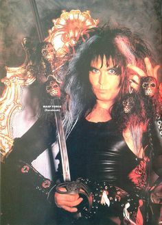 Long Live The King Of Mercy Blackie Lawless of W.A.S.P. #BlackieLawless #wasp