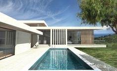 Plan maison moderne - Archionline