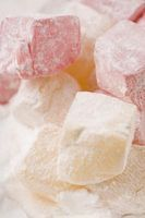 """Doesn't sound very good, so naturally I would like to try it someday. """"How to Make Turkish Delight The Easy Way"""""""