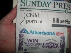The grocery chain didn't like this headline/ad placement. My post:  http://jimromenesko.com/2012/01/31/unfortunate-ad-placement/