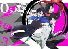 Osomatsu-san Characters:Osomatsu/Karamatsu/Choromatsu