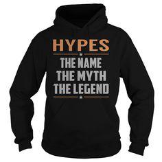HYPES The Myth, Legend - Last Name, Surname T-Shirt