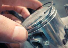 TEKNISI OTOMOTIF: Cara pemasangan piston Namura