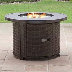 "Free Shipping. Buy Better Homes and Gardens Colebrook 37"" Gas Fire Pit at Walmart.com"