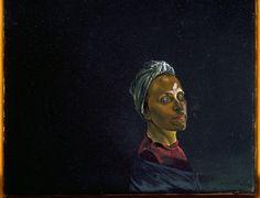 Retrato de Gala com Turbante. Óleo sobre tela. 1939. Salvador Dalí (1904-1989). Encontra-se no Museu Nacional Centro de Arte Rainha Sofia, em Madri, Espanha.