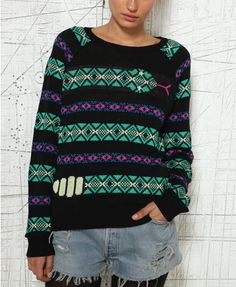 Urban Outfitters - Snake Knit