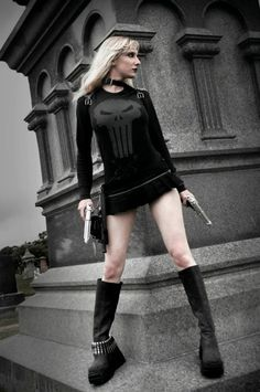 The Punisher, via http://illiara.tumblr.com