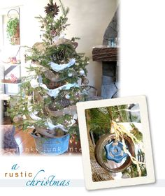 The full home tour – Christmas 2010 | Funky Junk Interiors