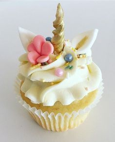 Image result for Happy Birthday unicorn kitty cupcake