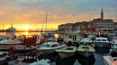 From the harbor in Rovinj, Croatia Photo credit: @bestworldyet