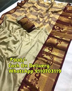 Fancy Sarees, Silk Sarees, Online Cash, Saree Collection, New Model, Cotton Silk, Delivery, Silk