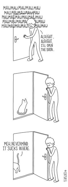 These Hilarious Cartoons Absolutely Nail What It's Like To Live With A Cat #LifeWithMarmalade