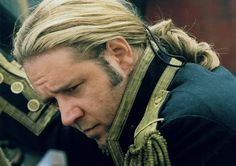 Russell Crowe in Master and Commander... (and a preview of how he may look as Javert!)