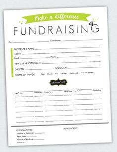 fundraising envelope template - fundraiser order form order form template and fundraising
