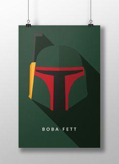 """Boba Fett, é um personagem fictício do universo da série Guerra nas Estrelas (Star Wars), que ocupa simultaneamente os papeis de vilão e de anti-herói e é um dos dois antagonistas de O Império Contra-Ataca (Star Wars Episode V: The Empire Strikes Back), juntamente com Darth Vader. """"Para saber mais clique na imagem"""""""