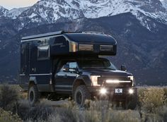 earth roamer builds custom ford F550 expedition vehicles that combine the best in off-the-grid capability with modern, home-like interiors.