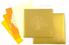 Show your nature love to all via this invitation card, displaying a Tree Of Life on its front. http://indianweddingcard.in/RP5385.html