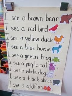 brown bear poem