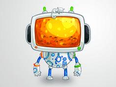 Sweet Robot Character
