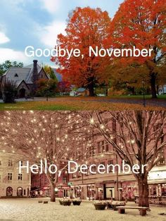 goodbye november hello november pictures - This calendar ideas tips was include at by goo Hello December Pictures, November Images, Hello November, It's December, November Calendar, Hello Winter, I Love Winter, Winter Is Coming, Days And Months