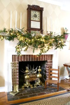Mantel Decorating Id