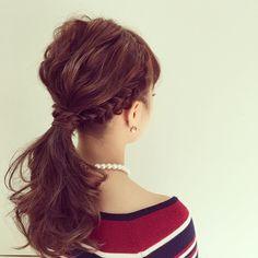"""この画像は「男が恋するヘアアレンジNo.1♡最愛 """"ポニーテール""""でかかるcuteな魔法」のまとめの5枚目の画像です。"""