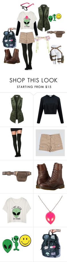 """samuel j. stuhlinger"" by nonya934 ❤ liked on Polyvore featuring LE3NO, Romeo + Juliet Couture, Dr. Martens, Disturbia, Agent Provocateur and callofduty"