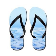 #Love #Ocean #Flip Flops