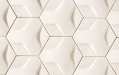 Hexon is ModCraft's latest tile design bringing dimensionality and patterning for wall surfaces to an elevated level. Try combining different glaze combinations for a unique design experience. Available in all 16 glaze colors as well as custom colors. Kitchen Wall Tiles, Bathroom Wall, Bath Tiles, Handmade Tiles, Decorative Panels, The Way Home, Tile Installation, Style Tile, Hexagon Shape