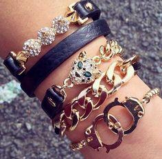 pulseira, moda, pulseirismo, joias, pulseiras, tendencias de moda, blo  bijuterias 26c76684c9