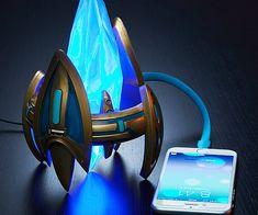 Starcraft Protoss Pylon USB Charger - https://interwebs.store/starcraft-protoss-pylon-usb-charger/ #GamerStuff