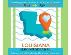 This mega bundle will not only give you 20 fantastic counseling resources, but ALL of the proceeds will be donated to the school counselors in the flood zone!  I would like to express my sincere gratitude to the wonderful counselors who donated to this fundraising effort!  Together we are stronger!