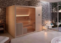 Sauna, the most recommended solution for your well-being. Add to your home or to your hotel the most wanted space for self-care . Wellness SPA showers, Jacuzzi® home and hotel wellness. Jacuzzi Bathroom, Sauna Shower, Saunas, Sauna Hammam, Spa Sauna, Sauna Steam Room, Sauna Room, Design Sauna, Arquitetura