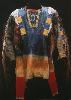 native american mens shirt 1860