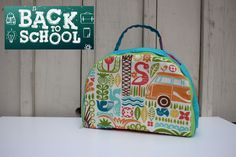 Organic Insulated Lunch Bag. This is so cute!
