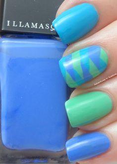 Adventures In Acetone: Illamasqua Fishtail Nails!